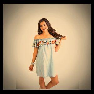 Off-the-Shoulder Dress by Karlie